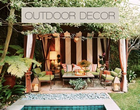 outdoor decor ideas use these tips to improve your outdoor d 233 cor