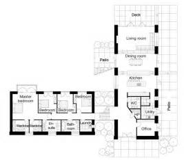 L Shaped House Designs And Floor Plans L Shaped Four Bedroom Open Floor Plans Google Search