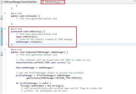 layout manager api power management using power manager api zebra