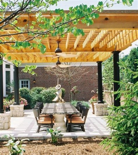 Pergola Ideas For Small Backyards Small Backyard Patio Landscaping Ideas Wallpaper