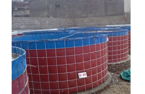 Harga Kolam Terpal Bundar 2017 kolam bundar bioflok kolam bundar bioflok untuk budidaya