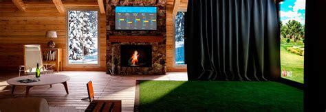 indoor golf simulator hd and full swing home indoor golf simulator 2017 2018 best cars reviews