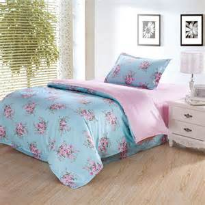 Blue Bedding Sets Single Sale Lovely 3pcs 100 Cotton Bedding Set