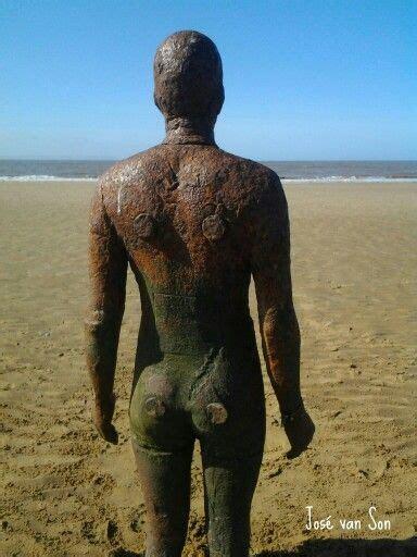 antony gormleys sculptures at crosby visitengland 25 best ideas about crosby on antony