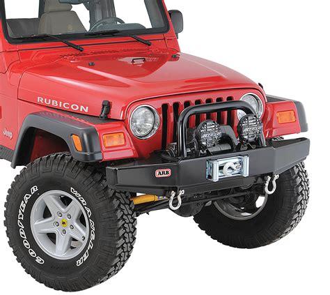 Jeep Wrangler Tj Front Bumper Arb 3450150 Quadratec Edition Front Stubby Bull Bar Bumper