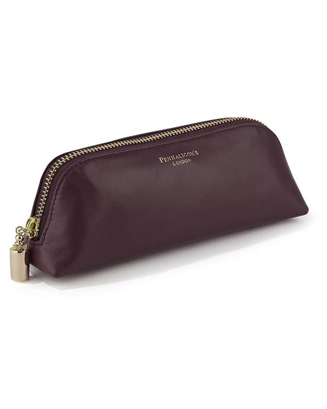 Small Leather by Small Handbags Small Leather Cosmetic Bag