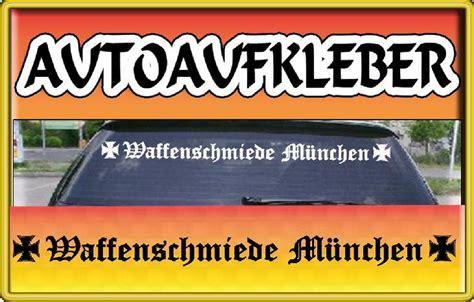Autoaufkleber Fenster Selbst Gestalten by Waffenschmiede M 220 Nchen Fun Auto Aufkleber F 220 R Bmw Ebay