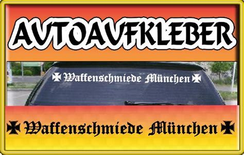 Auto Tuning M Nchen Shop by Waffenschmiede M 220 Nchen Fun Auto Aufkleber F 220 R Bmw Ebay
