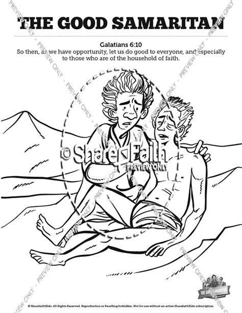 Samaritan Coloring Pages For by The Samaritan Sunday School Coloring Pages Sunday