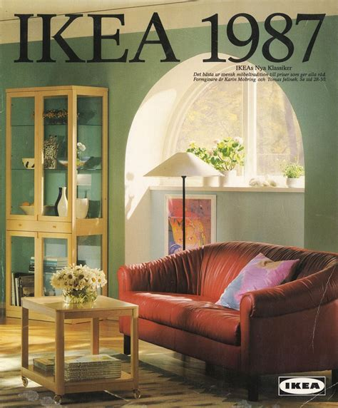 old ikea catalogs ikea 1987 catalog interior design ideas