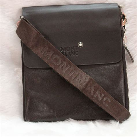 Handbag Mont Blanc Brown 99808 mont blanc handbag handbags 2018