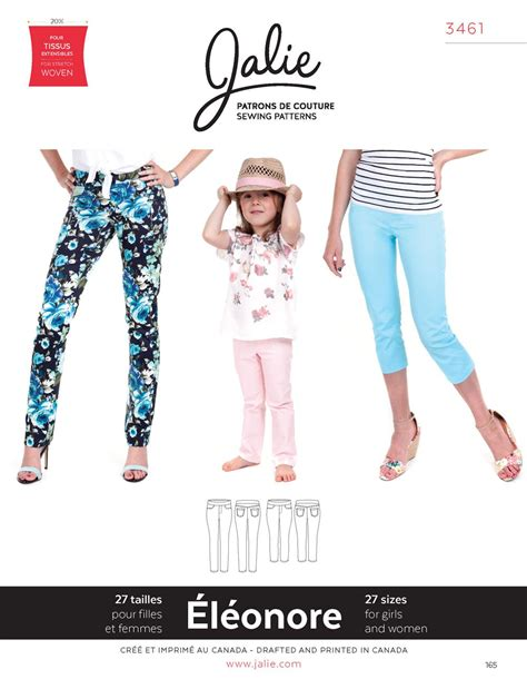 Jalie Jeans Pattern Review | jalie 3461 eleonore