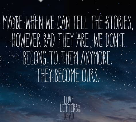 Letters To The Dead Words N Quotes
