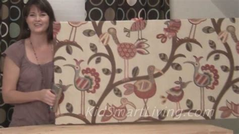 using fabric for home decor projects kovi how to make fabric wall art panels home decorating diy