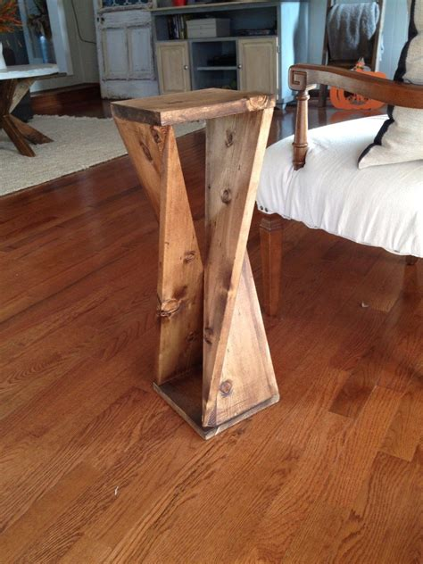 twisty table  woodshop diaries easy woodworking