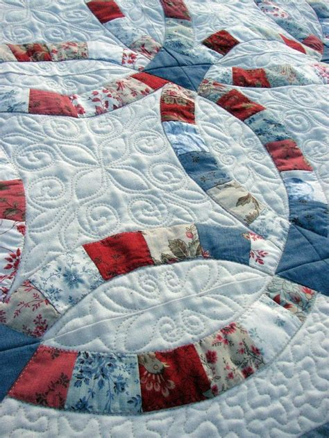 Handmade Wedding Quilts - 10 best images about wedding ring quilts on