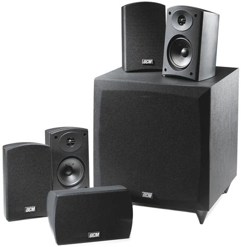 cinema1 dcm 5 1 home theater speaker system mtx audio