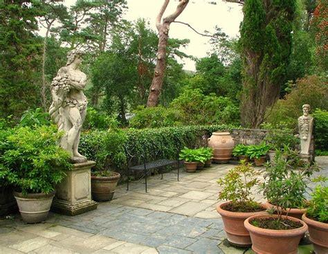 Mario Buatta Interior Design Italian Terrace Glenveagh Castle 169 Rossographer