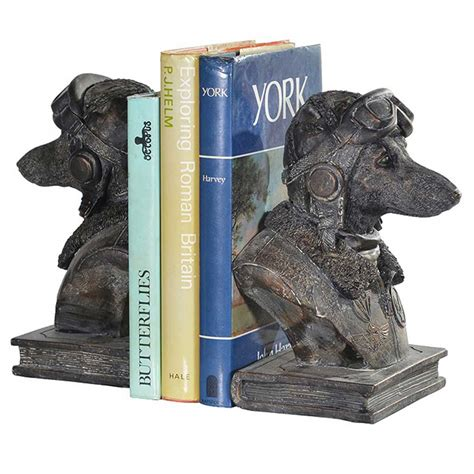 pilot dogs pilot bookends hydes kitchens furniture