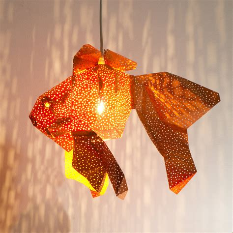 Paper Craft L Shades - diy papercraft light shades of aquatic by vasili