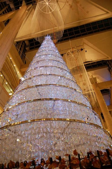 crystal christmas trees winter christmas pinterest