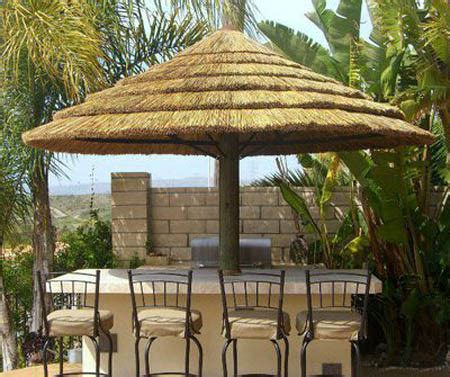 Thatch Bar Thatched Roofing For Gazebos And Sheds Gorgeous Backyard