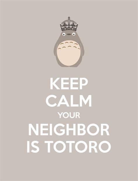 generador de imagenes keep calm gratis 101 mejores im 225 genes sobre totoro en pinterest mantenga