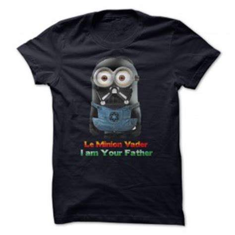 Sprei Minion Rebel wars minion darth vader t shirt
