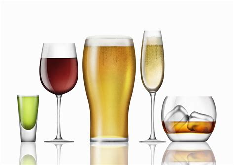drinks alcoholic where do different types of come from