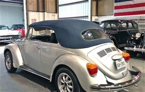 volkswagen super beetle convertible  magnusson classic motors  scottsdale az