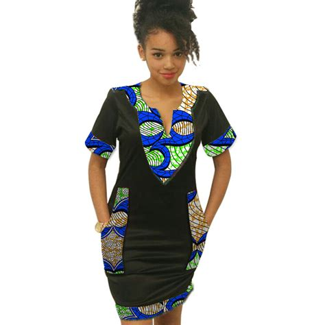 african print party dress fashion women african print dress wax print ankara party