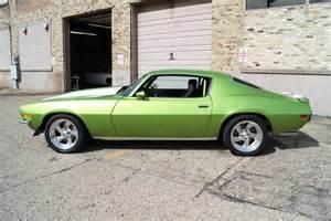 1970 camaro green 1970 pro touring camaro fully customized green machine
