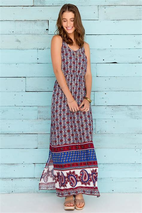 Alexandria Maxy alexandria printed maxi dress s