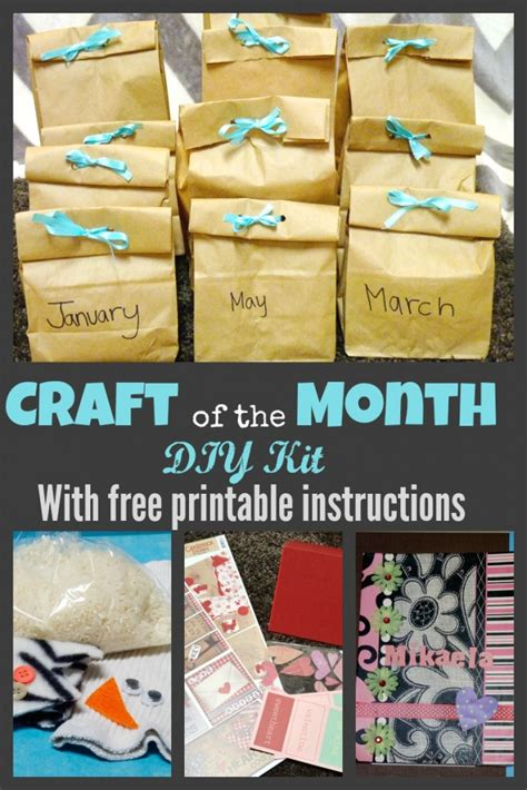 craft subscription for diy craft subscription kit more excellent me