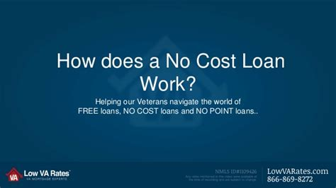 how does a va loan work when buying a house how does a no cost loan work