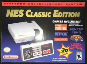 nintendo entertainment system nes classic edition nintendo entertainment system nes classic edition mini console 30 in