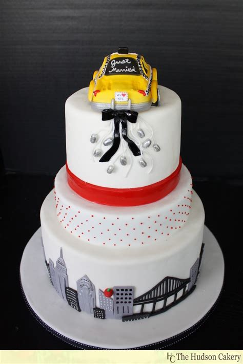 Wedding Cakes Nyc by Nyc Checkered Taxi Cake Wedding Cakes The Hudson Cakery