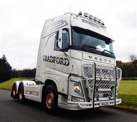volvo transport truck special volvo fh540 is bradford transport s truck