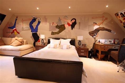 bedroom dance teen bedroom wall decoration ideas cool photo wallpapers