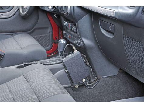 Jeep Cb Mounts Quadratec Jk Cbm11 Disconnect Cb Radio Mount For