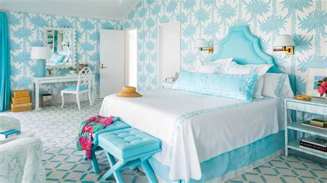 turquoise bedroom accessories 2017 grasscloth wallpaper 50 ways to decorate with turquoise coastal living