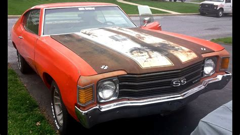 Chevelle Car by 1972 Ss Chevelle Project Car