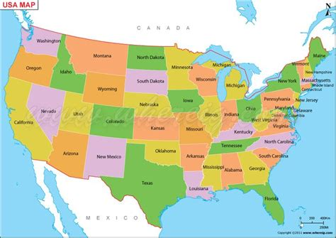 map  map  united states  america shows  usa staes states bounday