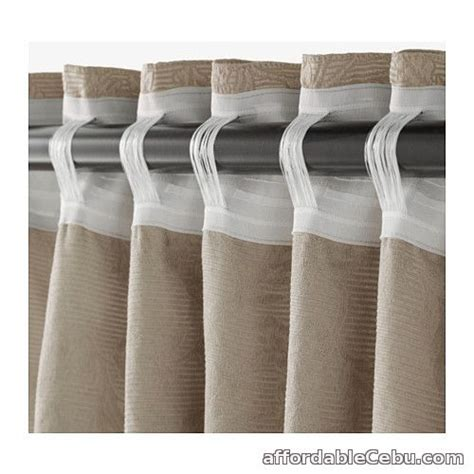 curtains for sale philippines blekviva curtains beige product of sweden for sale