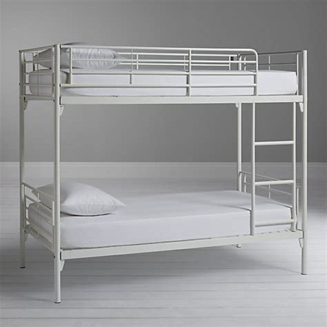 bunk beds lewis buy silentnight oscar metal bunk bed white lewis