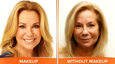 kathie lee hoda makeover makeup today anchors and you dare to bare on no makeup monday