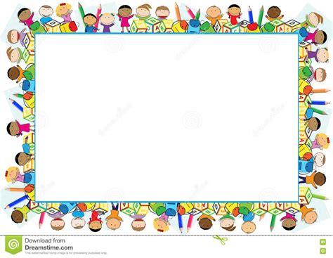 clipart per bambini blocco per grafici colorato per i bambini illustrazione di