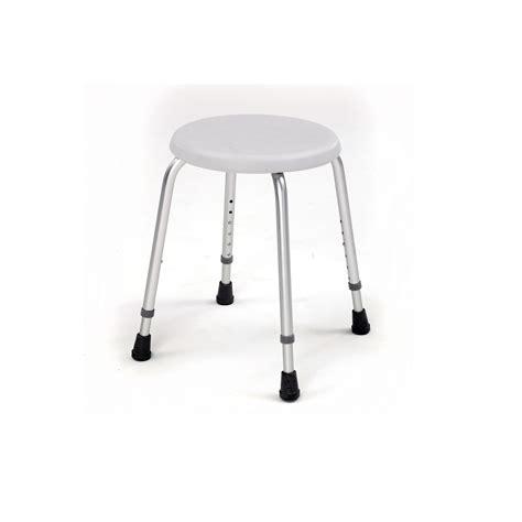 4204 compact aluminium shower stool roma