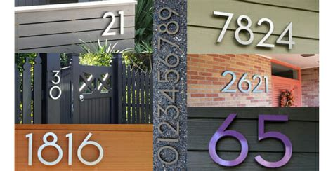 house numbers buy where to buy modern house numbers modernize