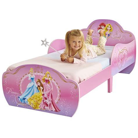 disney princess toddler bed w disney princess snuggletime mdf toddler bed new girls ebay